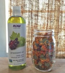Infusing Oils for Kitchen & Body